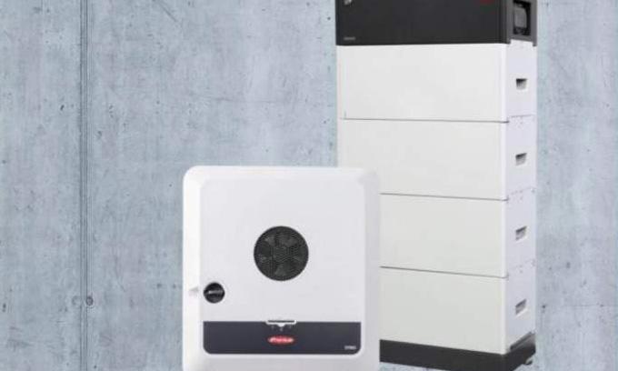Fronius batterijsysteem productfoto