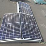Slechten - Berchem - Plat dak flatfix oost-west - 9 panelen Denim 410Wp - Solar Edge SE3000 - Optimizers P500